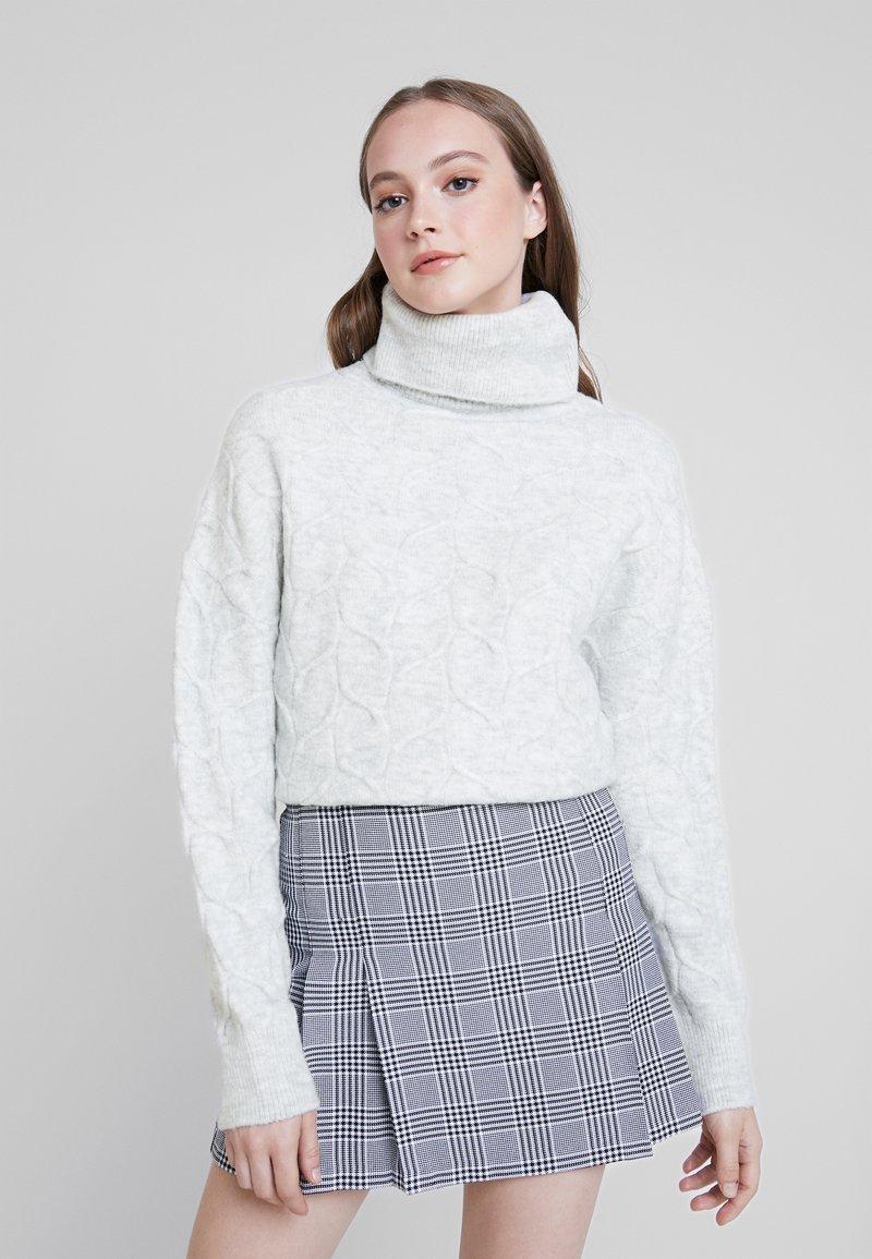 Even&Odd - Svetr - light grey melange