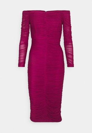 EMANI DRESS - Iltapuku - burgundy