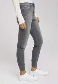 TOM TAILOR DENIM - JANNA - Jeans Skinny Fit - used mid stone grey denim - 3