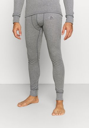 ACTIVE WARM ECO BOTTOM LONG - Dlouhé spodní prádlo - odlo steel grey melange