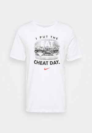 TEE HUMOR - T-shirt con stampa - white