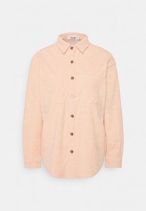 BUTTON RAW HEMSHIRT - Skjorte - cream