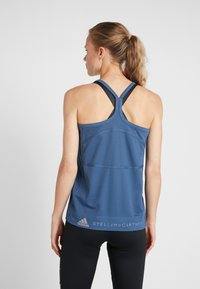 adidas by Stella McCartney - GRAPHIC TANK - Topper - visblu - 2