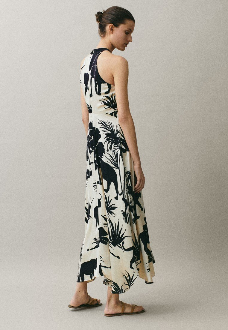 Explore Wholesale Massimo Dutti Maxi dress - beige | women's clothing 2020 UCVeu