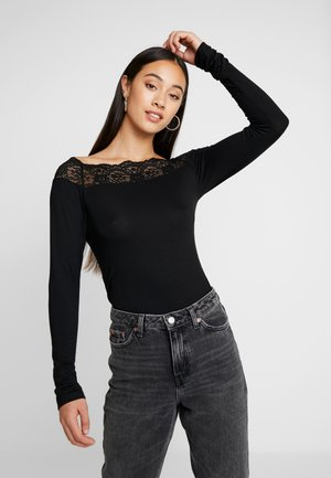 PCSIE - Long sleeved top - black