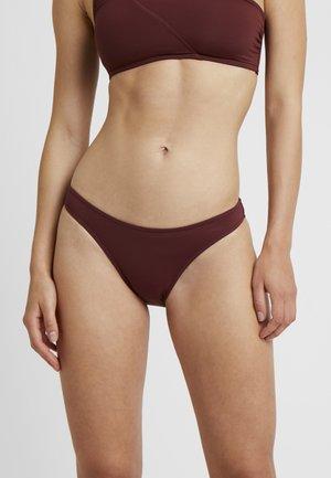 ACTIVE HIGH CUT PANT - Bikini bottoms - plum