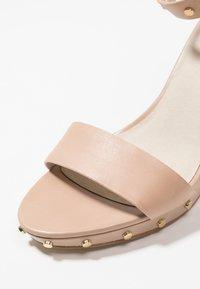 KIOMI - High heeled sandals - nude - 2