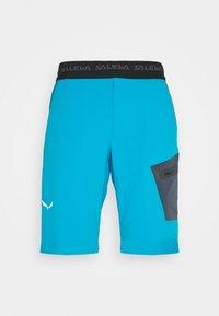 Salewa - PEDROC BERMUDA - Krótkie spodenki sportowe - blue danube - 3