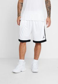 Jordan - FRANCHISE SHORT - Sports shorts - white/black - 0