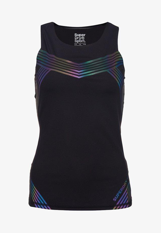PERFORMANCE - T-shirt sportiva - noir