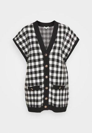 GIGGI - Vest - black/white