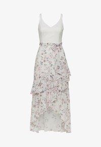 Forever New - EVERLY WRAP FRILL MIDI DRESS - Denní šaty - off white - 0
