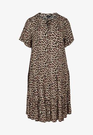 SHORT SLEEVED  - Day dress - leo