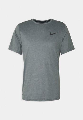 T-shirt basic - black/smoke grey/heather/black