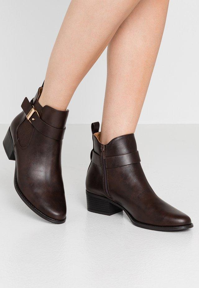 Boots à talons - dark brown
