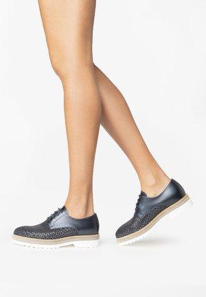 Volnočasové šněrovací boty - blue