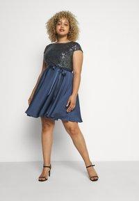 Swing Curve - Sukienka koktajlowa - medium blue - 1