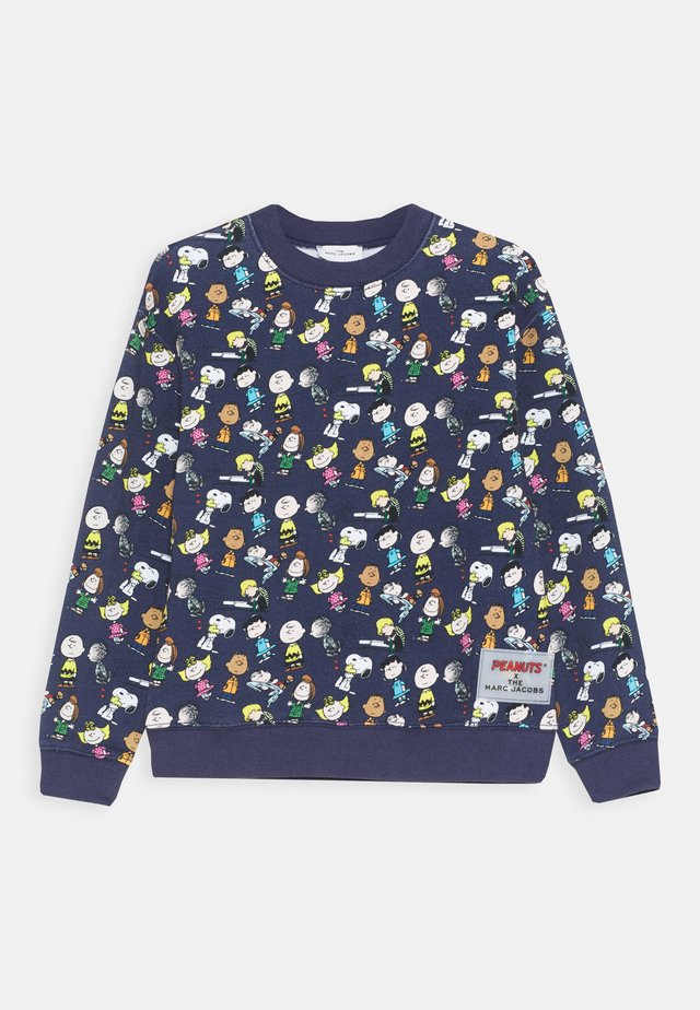THE MARC JACOBS X PEANUTS - Sweatshirt - medieval blue