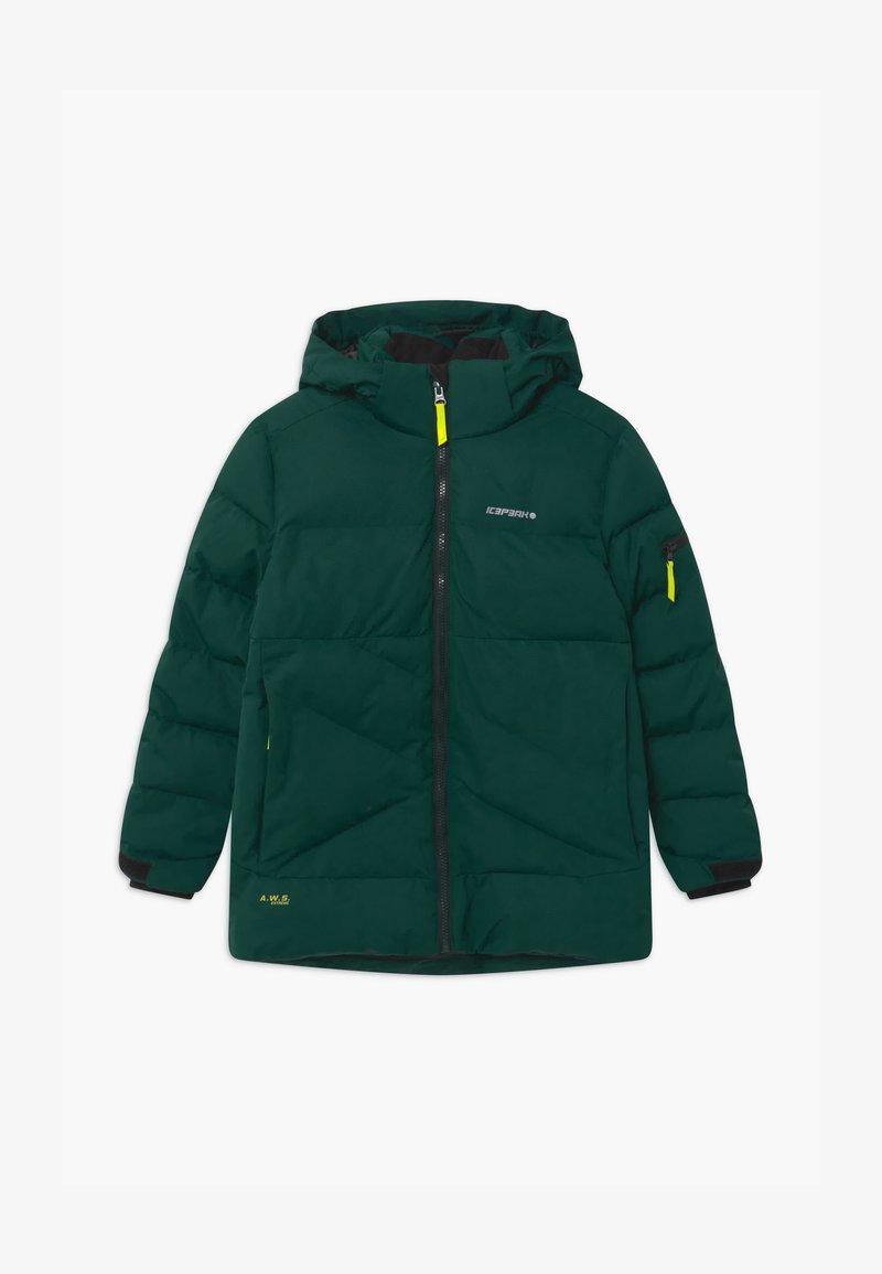 Icepeak - LOUDON UNISEX - Snowboard jacket - antique green