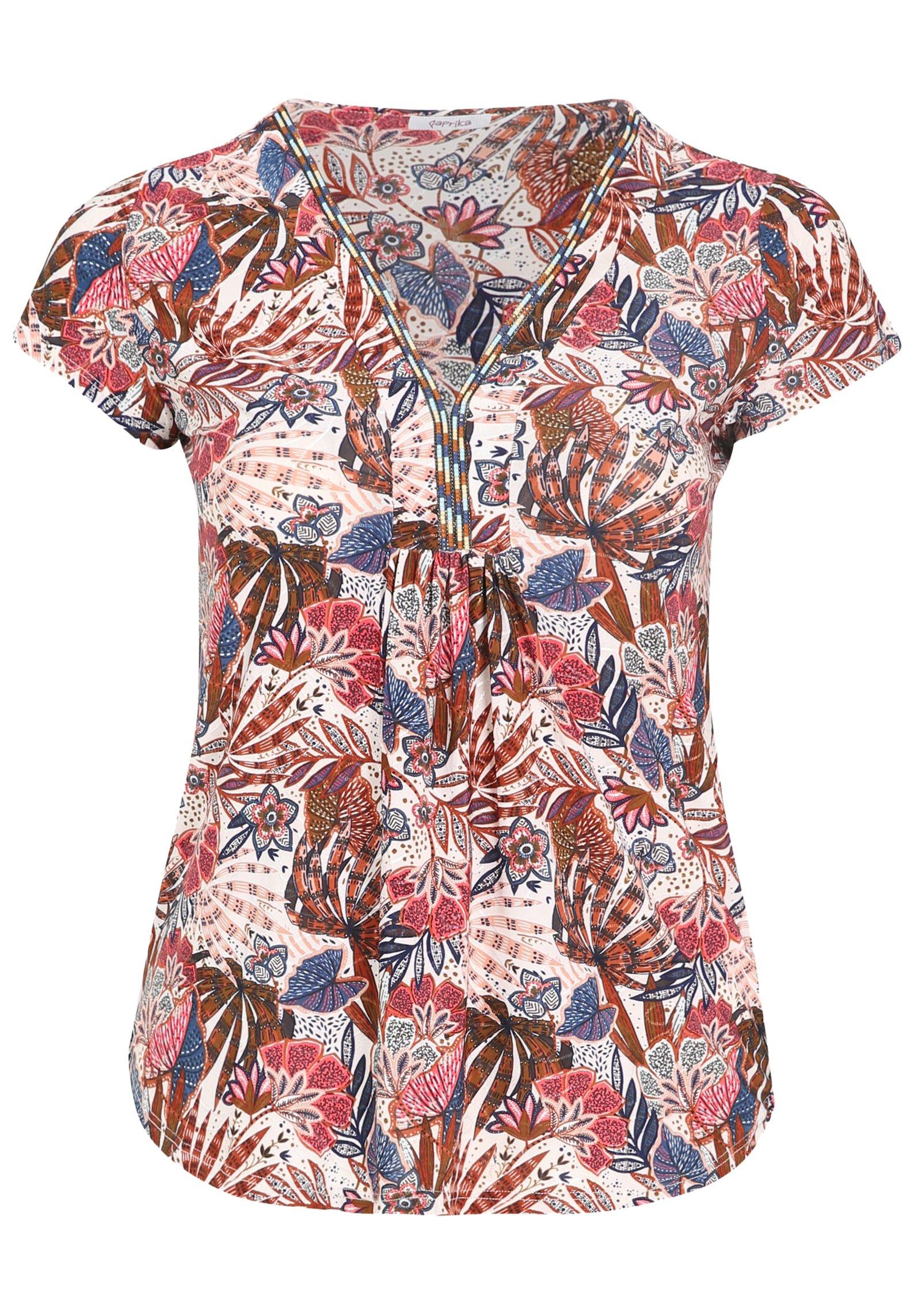 Damen MIT FARBIGEM ETHNO-PRINT - T-Shirt print