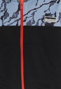 Hummel - NILAR ZIP HOODIE - Zip-up hoodie - black - 2