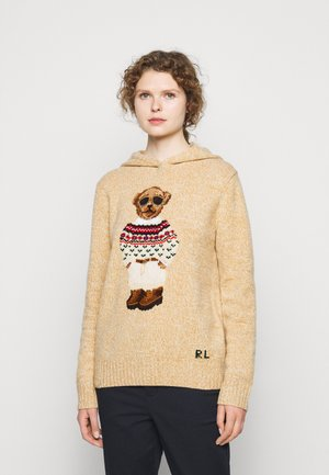 Jumper - oatmeal multi