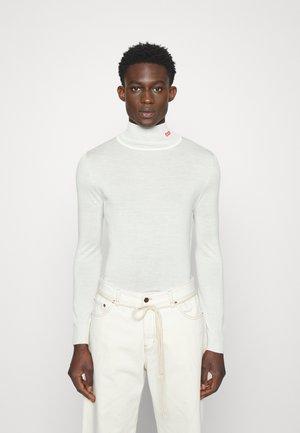 LOGO UNISEX - Jumper - natural white
