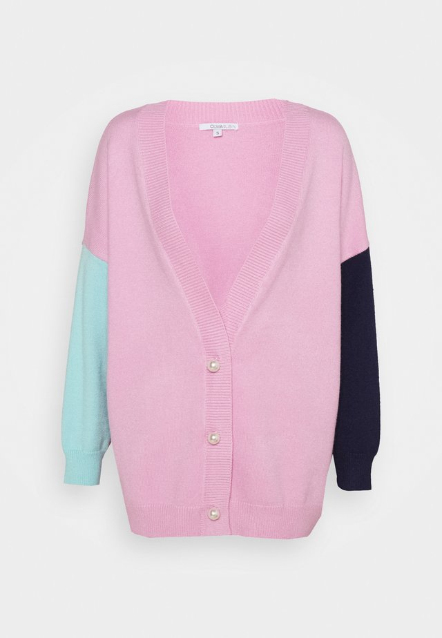 CECILY CARDIGAN - Gilet - pink