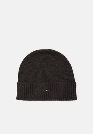 PIMA COTTON BEANIE - Bonnet - grey