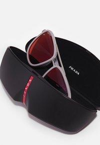 Prada Linea Rossa - Solglasögon - matte silver-coloured/ice rubber - 3