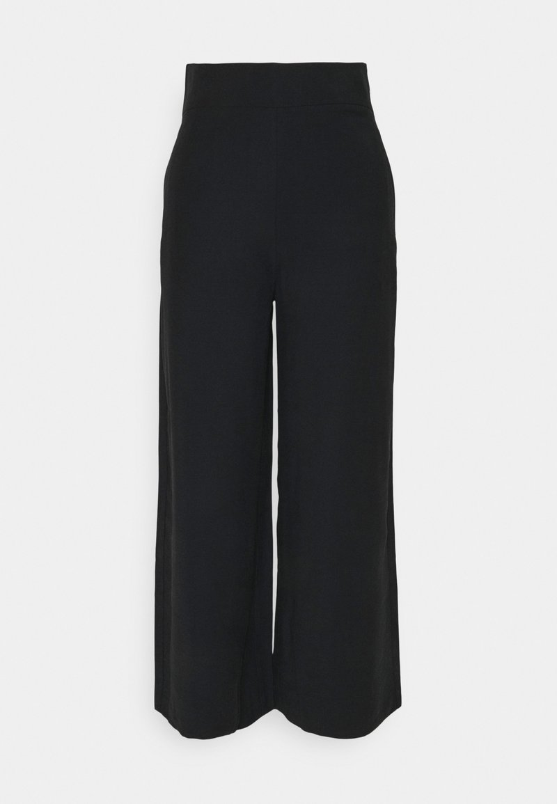 Lindex - SANNA CROPPED - Bukse - black