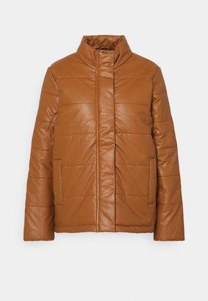 PUFFER - Winter jacket - tan