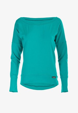 LONGSLEEVE - Sweater - ocean green