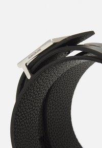 Calvin Klein Jeans - SQUARE PLAQUE - Belt - black - 3