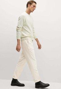 Mango - AUS CORD - Trousers - ecru - 5
