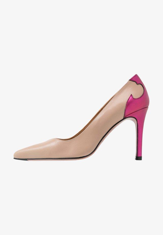 High heels - old rose/eclat marseillla fuchsia