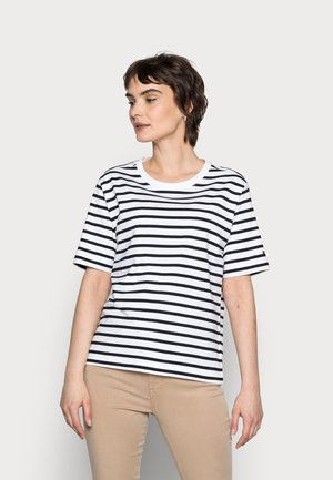COOL RELAXED TOP - Print T-shirt - blue