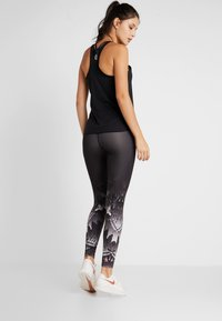 BIDI BADU - Legginsy - black/white - 2