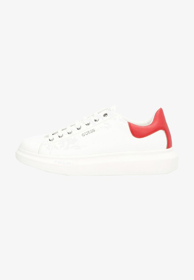 SALERNO - Sneakers basse - white red