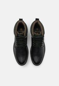 Burton Menswear London - POWELL - Lace-up ankle boots - black - 3