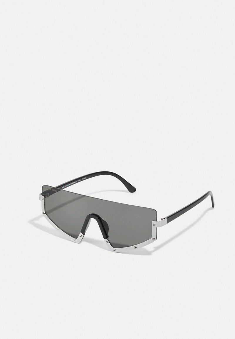Urban Classics - SUNGLASSES SANTA MARIA UNISEX - Sluneční brýle - black/silver-coloured