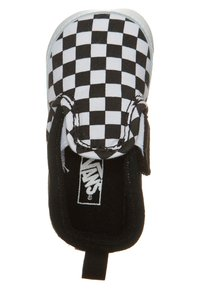 Vans - SLIP-ON V CRIB - First shoes - black/true white - 4