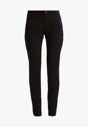 VERA - Spodnie materiałowe - black deep