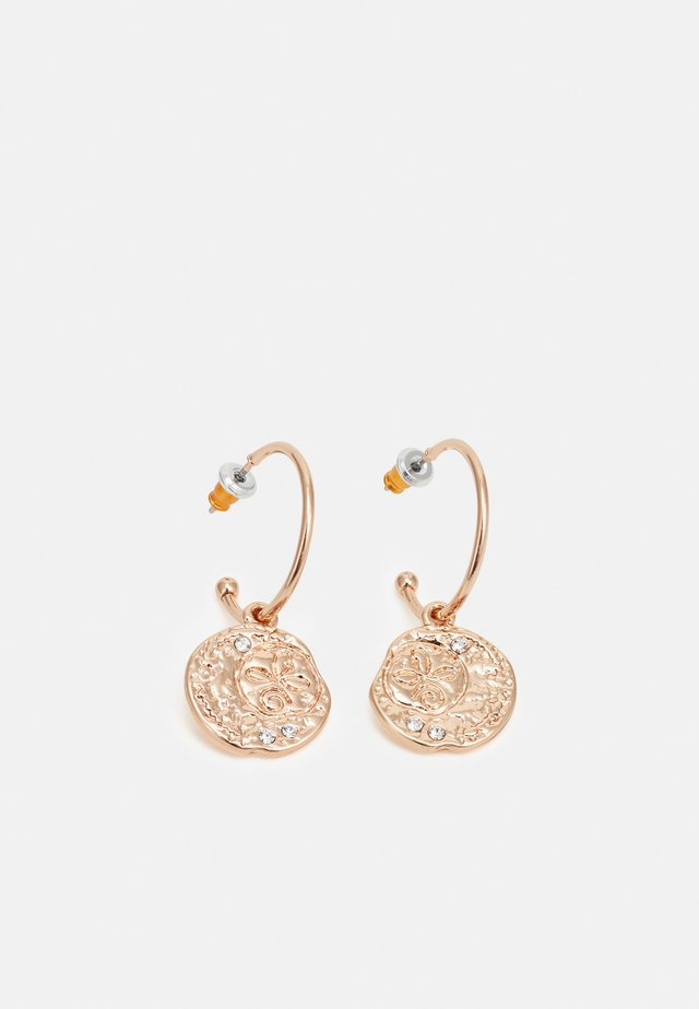 EARRINGS - Náušnice - rosegold-coloured