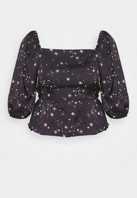 AVA STAR SHELL - Blouse - black