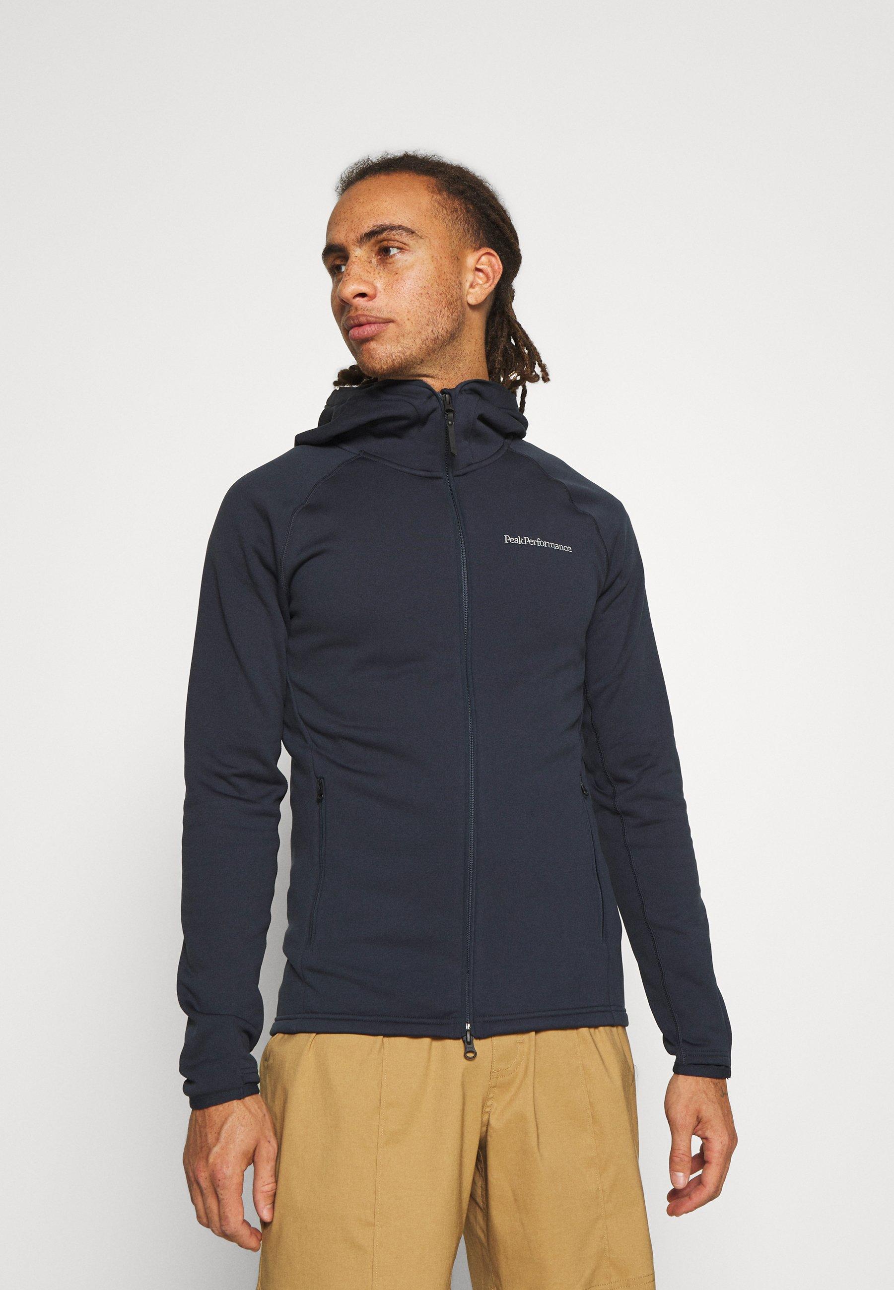 Men CHILL ZIP HOOD - Fleece jacket