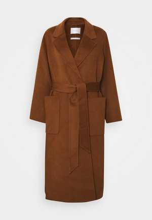 BELTED COAT - Classic coat - gingerbread