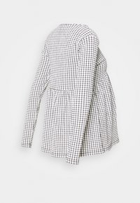 MAMALICIOUS - MLCILLE TOP CHECK - Long sleeved top - snow white/black - 1