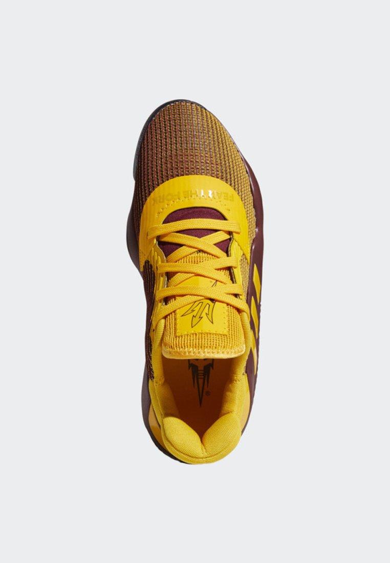 adidas Performance PRO BOUNCE 2019 LOW SHOES - Basketballschuh - red/schwarz - Herrenschuhe jDJdX