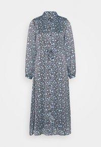 Fabienne Chapot - MIDI DRESS - Shirt dress - dark chocolate/ice blue - 0